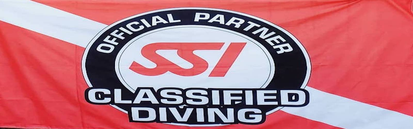 Classified Diving Flag